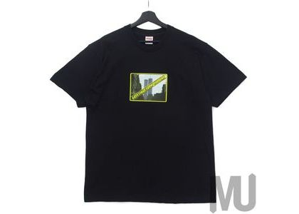 Supreme Greetings Tee Blackの写真