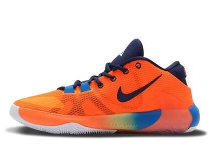 Nike Zoom Freak 1 Total Orange/Midnight Navy-Whiteの写真
