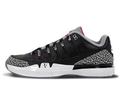 Nike Zoom Vapor Tour AJ3 Black/Cement-Whiteの写真