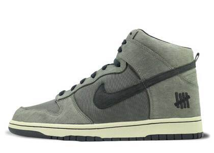 Undefeated × Nike Dunk High Bring Back Pack Ballistic Greenの写真