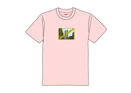 Supreme Greetings Tee Light Pinkの写真