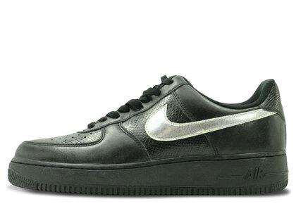 Nike Air Force 1 Low 07 Black/Metallic Silver Womensの写真