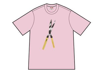 Supreme Shears Tee Light Pinkの写真