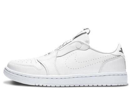 Nike Air Jordan 1 RET Low Slip White/Black Womensの写真