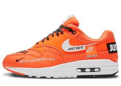 Nike Air Max 1 LX Total Orange/White-Black Womensの写真