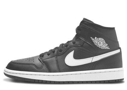 Nike Air Jordan 1 Mid Black White Womensの写真