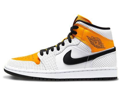 Nike Air Jordan 1 Mid Laser Orange Womensの写真