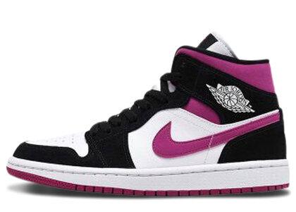 Nike Air Jordan 1 Mid Magenta Womensの写真