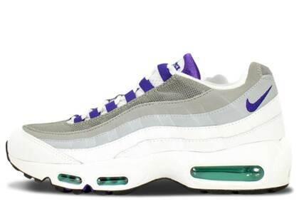Nike Air Max 95 White/Court Purple Womensの写真