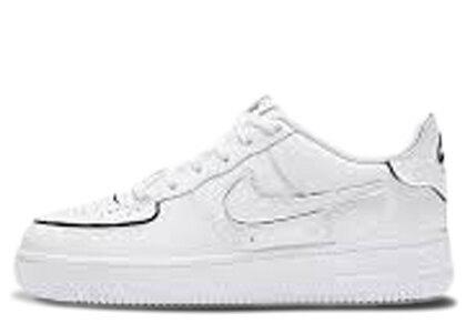 Nike AF1/1 White/Black Cosmic Clay (GS)の写真