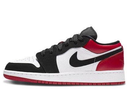 Nike Air Jordan 1 Low Black Toe (GS)の写真