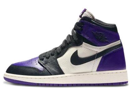 Nike Air Jordan 1 Retro High Court Purple (GS)の写真
