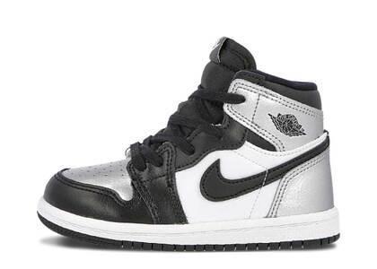 Nike Jordan 1 Retoro High Silver Toe (TD)の写真