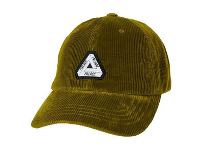 Palace Tri-Ferg Patch Cord 6-Panel Olive (SS21)の写真