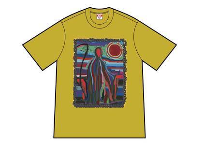 Supreme Reaper Tee Acid Yellowの写真