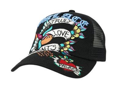 Palace Inky Trucker Hat Black (SS21)の写真