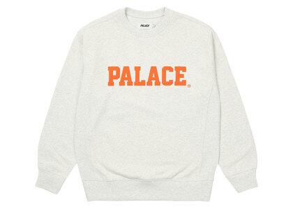 Palace Healthily Crew Light Grey Marl (SS21)の写真