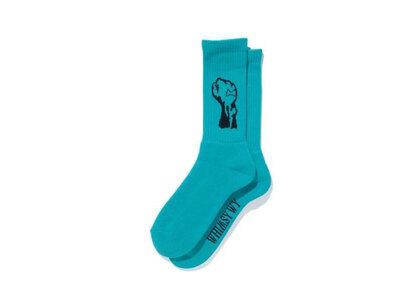 Whimsy x Verdy Fist Socks Greenの写真