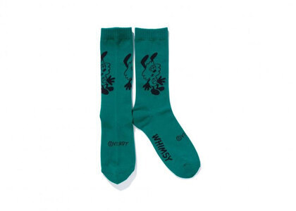Whimsy x Verdy Vick Socks Greenの写真