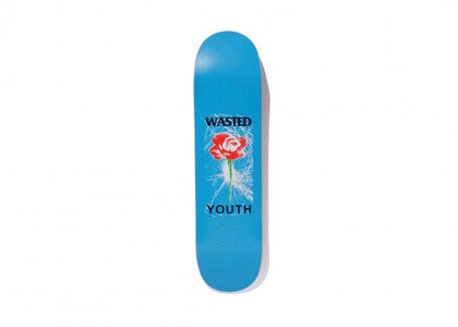 Wasted Youth Skateboard WY Rose Blueの写真