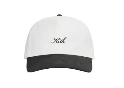 Kith Script Logo Cap White / Multiの写真