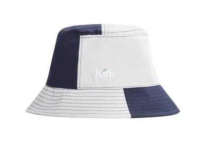 Kith Recyclable Serif Leaf Logo Bucket Hat Hallowの写真