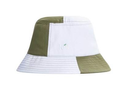 Kith Recyclable Serif Leaf Logo Bucket Hat Whiteの写真