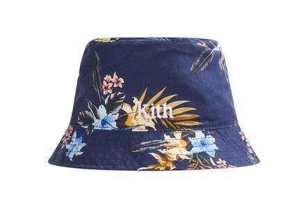 Kith Hawaiian Print Reversible Bucket Hat Nocturnalの写真