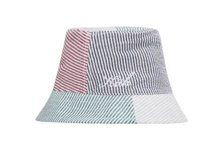 Kith Seersucker Bucket Hat Concreteの写真