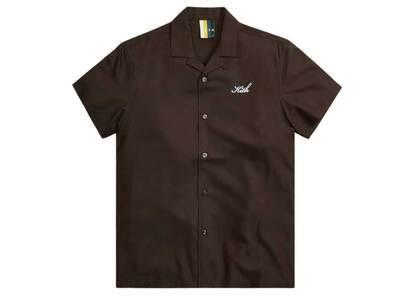 Kith Thompson Camp Collar Shirt Saddleの写真