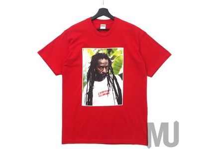 Supreme Buju Banton Tee Redの写真