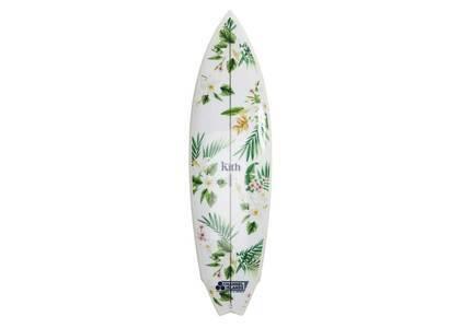 Kith × Channel Island Hawaiian Print Surf Board Whiteの写真