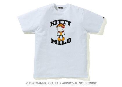 Bape Hello Kitty × Baby Milo Tee White (SS21)の写真