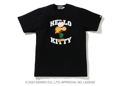 Bape Hello Kitty × Baby Milo Tee #2 Black (SS21)の写真