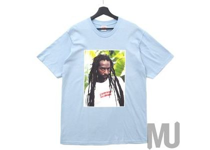 Supreme Buju Banton Tee Light Blueの写真