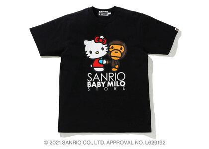 Bape Hello Kitty × Baby Milo Tee #3 Black (SS21)の写真