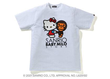 Bape Hello Kitty × Baby Milo Tee #3 White (SS21)の写真