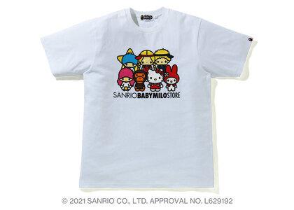Bape Hello Kitty × Baby Milo Tee #4 White (SS21)の写真