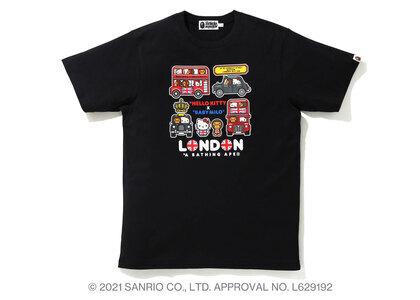 Bape Hello Kitty × Baby Milo London Tee Black (SS21)の写真