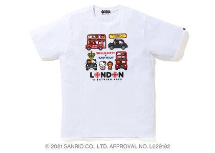 Bape Hello Kitty × Baby Milo London Tee White (SS21)の写真