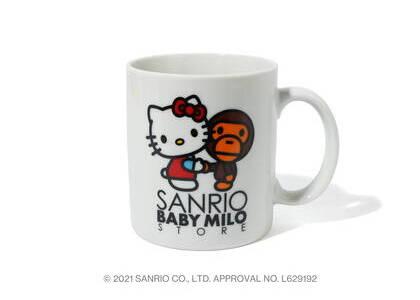 Bape Hello Kitty × Baby Milo Mug Cup White (SS21)の写真