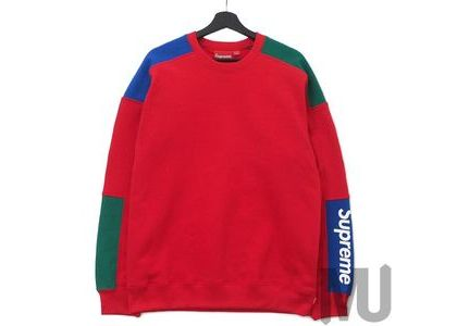 Supreme Formula Crewneck Redの写真