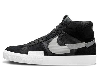 Nike Blazer Mid Mosaic Black Whiteの写真