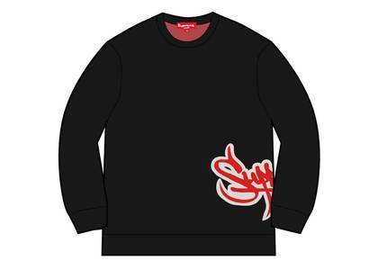 Supreme Tag Logo Sweater Blackの写真