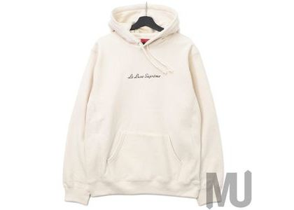 Supreme Le Luxe Hooded Sweatshirt Naturalの写真