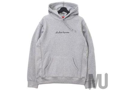 Supreme Le Luxe Hooded Sweatshirt Heather Greyの写真
