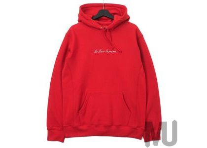 Supreme Le Luxe Hooded Sweatshirt Redの写真