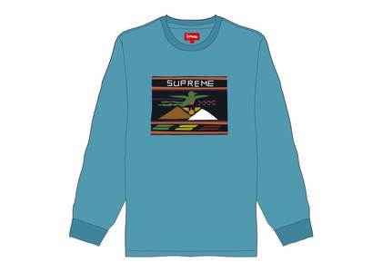 Supreme Needlepoint Patch L-S Top Dusty Tealの写真