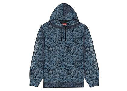 Supreme Marble Hooded Sweatshirt Orangeの写真