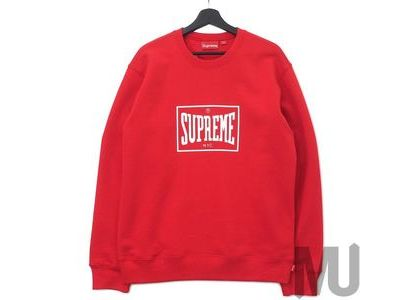 Supreme Warm Up Crewneck Redの写真